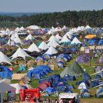 ロッキン、ホテルの他にテントやキャンプもある! 後編